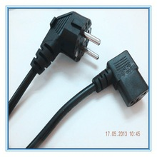 Korea approved 2/3pin ac power cord from kuncan electronics