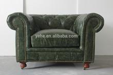 kuka leather sofa living room furniture couches antique furniture nice modern sofa for sale, Kensington button sofa, TD-01