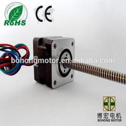 nema 17 linear stepper motor 12V DC high speed lead screw stepper motor