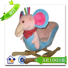 2015 New arrival baby rocking horse/hand carved wooden horse