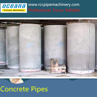 Vertical Vibration concrete pipe making machine for diameter 300-3000mm,2-3meter reinforced cement concrete pipe