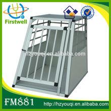 Modern aluminium dog cage dog house