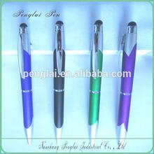 promotional ball pen set logo printing ball pen twist action aluminum pen