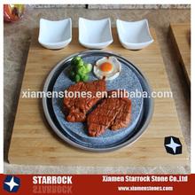 Hot Black Rock BBQ Stone Grill