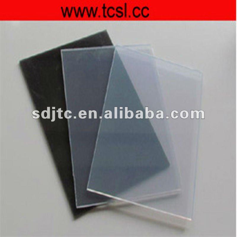 food grade pvc rigid sheet( transparent and colored)