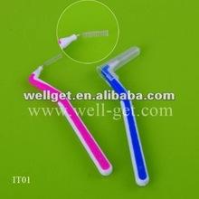 Hot Selling Nylon Interdental Brush/Adult Soft Toothbrush/Dental Gift