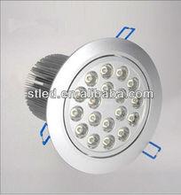 2012 hot sale 18w waterproof led bathroom ceiling lights