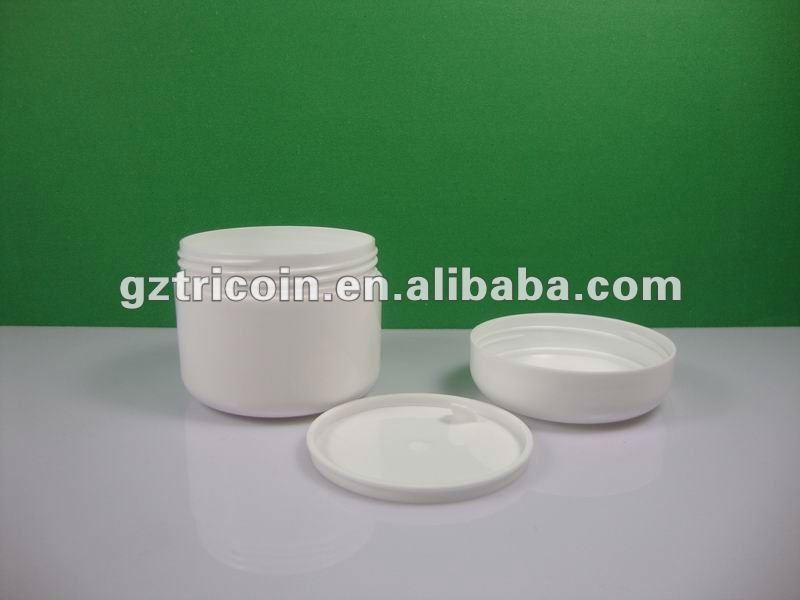 4oz double wall plastic cosmetic jar