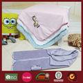 2012 la nueva producción puede ser de tela para bebé de peluche de bebé de microfibra manta envolver