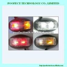 Color of Amber and Red LED Side Marker Light Truck Trailer