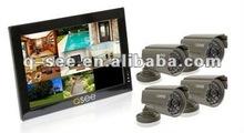 """10"""" LCD CCTV DVR Kit"""