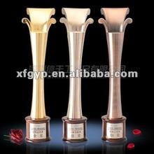 Friendship ,professional design zinc alloy metal trophy cup