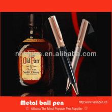 Design for whisky Rose gold promotional ball pen