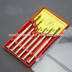 hotsale 6pcs Precision Jewelers Screwdriver Watch Repair Tools