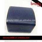 New design blue plastic gift box for watches velvet inserts