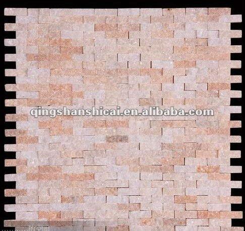 ... della parete di pietra, interni pannello murale in pietra piastrelle