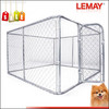 Hot sale 10*10*6 feet large silver galvanized tube outdoor dog cage