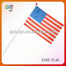 Plastic Mini Hand Flag Sticks