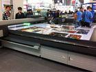 Latest 1440dpi canvas,vinyl,banner,poster,flex uv inkjet flatbed printer with roll option