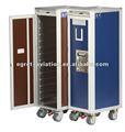 Equipamiento de cocina para aviones ATLAS & KSSU. Carrito para comidas durante el vuelo o carrito para línea aérea, aviones