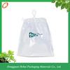 2014 new product printed plastic drawstring bag