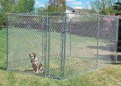 iron wire dog kennel