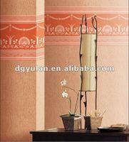 Non-woven Back Paintable Foam Wallpaper Border