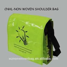 Manufacture pp laminated non woven shoulder bag