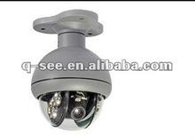 Weatherproof outdoor 360 degree rotating mini PTZ surveillance camera