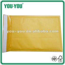 Kraft bubble envelop, bubble envelope, wholesale envelope, gummed envelope, pull & seal envelope