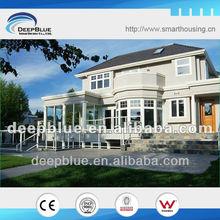 Luxury villa steel house model