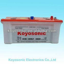Lead Acid Dry Battery for Car Starting-N180-12V180AH
