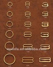 Gold color bra adjuster