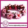 F1 wholesale polymer clay flowers jewelry