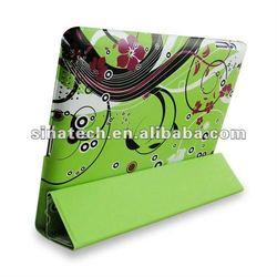 for ipad flip cover case,custom universal ipad 2/3/4 smart flip cover case