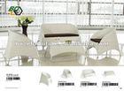 Hot sale outdoor furniture sofa / wicker garden sofa furniture