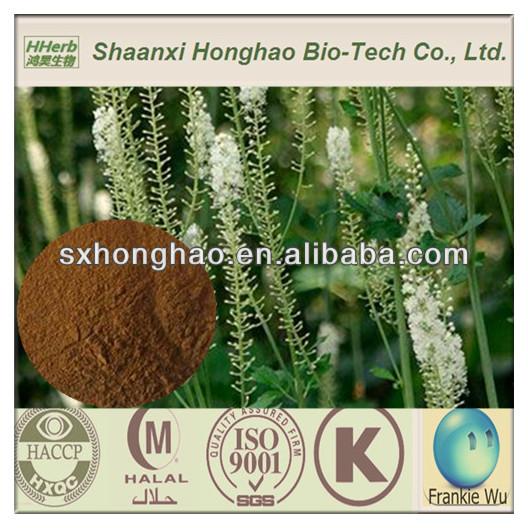 Triterpene Glycosides 2.5%/5% powdered black cohosh extract