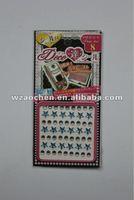 rhinestone cell phone stickers