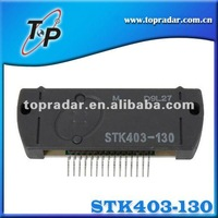 SANYO thick film hybrid integrated circuit 2 channel class AB audio power amplifier IC, 150 W + 150 W, STK433-130