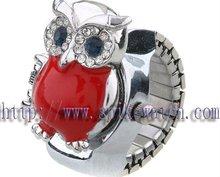 Quartz Finger Watch Women Fancy Rings