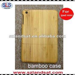 100% hand-made natural bamboo case for mini ipad IBC22