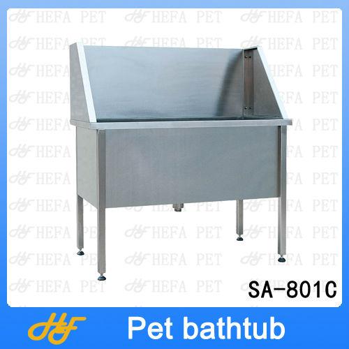 Stainless steel pet bathtub,dog bathtub SA-801C