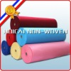 professional manufacture nonwoven fabric in pastel blue color