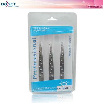 TS201212 LFGB certificated tweezers for eyelash extensions