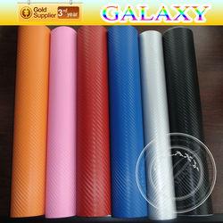 Auto protection vinyl film 3D carbon fiber vinyl wrap with air free bubble
