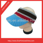 Fashion Acrylic Knit Sunhat Visor Cap