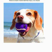 rubber dog toy teeth ball