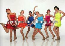nouveau style de danse latine salle de bal robes