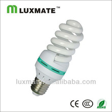 T3 7W e27 full Spiral compact fluorescent light bulb