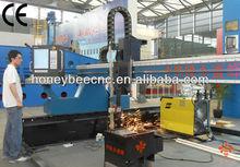 Heavy duty gantry plasma brand CNC cutting machine,150mm mild steel cutting